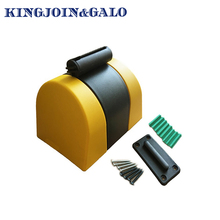 Plastic wall-mounted cordon isolation 3Meter belt retractable belt lined up black and yellow warning tape