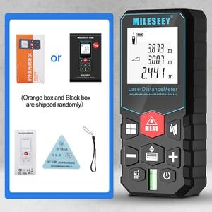 Image 5 - Mileseey Mini medidor de distancia láser Digital, trena, cinta métrica láser, diastímetro, herramienta de medición, telémetro láser 100M 80M  60M 40M