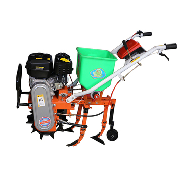 Multi-function one-wheel pastoral management tillage machine, fertilizing and trenching machine soil cultivation orchard weeding agricultural wastes as soil amendments for cowpea cultivation