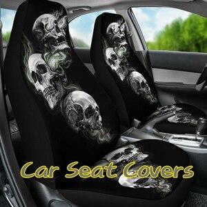 Car Universal Skull Seat Cover