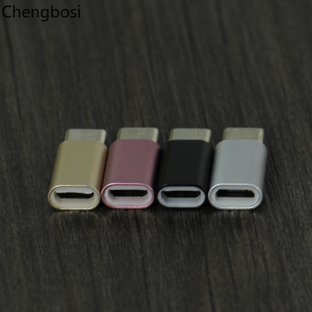 USB Adapter Micro USB To Type C OTG Cable Type C Converter for Macbook Samsung Galaxy S8 S9 Huawei P20 Pro P10 OTG Adapter in Phone Adapters Converters from Cellphones Telecommunications