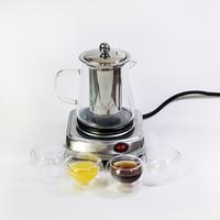 220V 500W Multifunktionale Mini Elektrische Herd Kochen Heißer Platte Kaffee Heizung Kaffee Tee Heizung Hausgeräte Kaffee Maker EU P|Teekannen-Untersetzer|Heim und Garten -