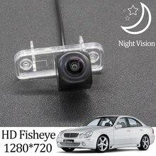 Owtosin hd 1280*720 fisheye câmera de visão traseira para mercedes benz e-class (w211) 2003-2009 carro veículo estacionamento reverso acessórios