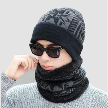 Winter Hat Men Women Knitted Hat Scarf Skullies Beanies Winter Beanies For Men Caps Mask Balaclava Bonnet Cap Hats 2019