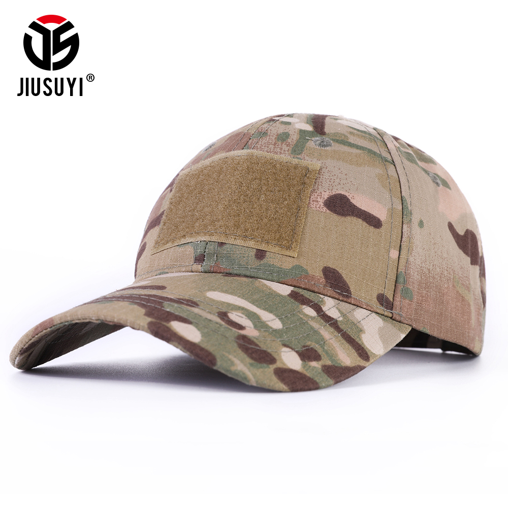 Multicam Military Baseball Caps Camouflage Tactical Army Soldier Combat Paintball Adjustable Summer Snapback Sun Hats Men Women