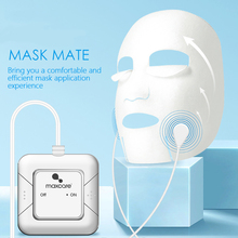 EMS Microcurrents Mask Importer for Face Beauty Radio Skin Tightening Device Lifting Rejuvenation Vibration Massage Convenient