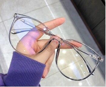 Blue Light Blocking Glasses 2020 Women Oversized Eyeglasses Anti Blue Light Computer Glasses Men Safety Eyewear Spectacle 3
