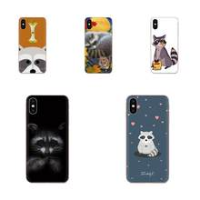 Animal Raccoon Art Print Mobile Phone Shell For Huawei P7 P8 P9 P10 P20 P30 Lite Mini Plus Pro Y9 Prime P Smart Z 2018 2019(China)