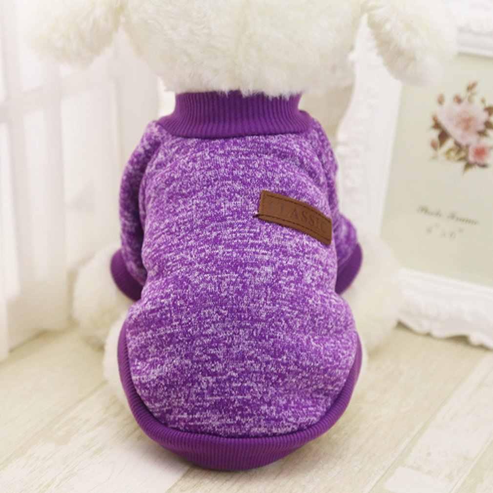 HOOPET hiver chaud coton chat sweat à capuche Pet manteau veste vêtements roupas para cachorro pour petits chiens XS-XXL 9 couleurs