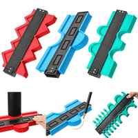 Onnfang Copy Gauge Contour Gauge Duplicator Contour Scale Template Wood Marking Tools Tiling Measuring Ruler Bulk price