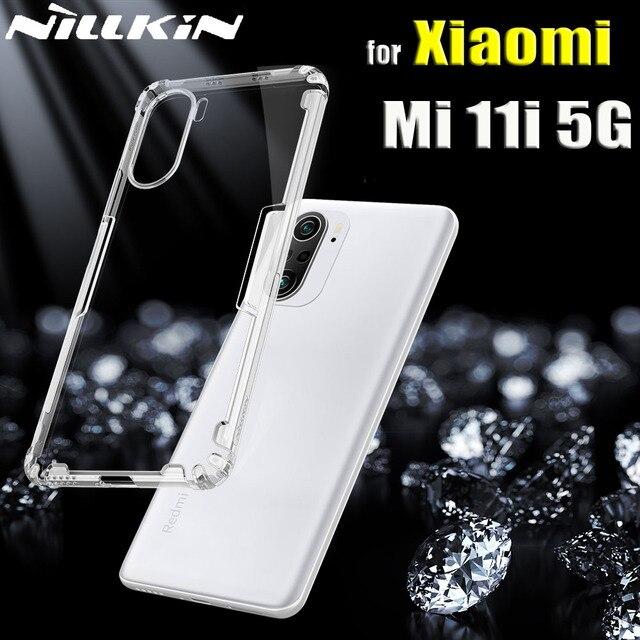 Nillkin Case for Xiaomi Mi 11i 5G Cases 0.6mm Thin Clear Transparent Silicone Soft Phone Back Cover for Xiaomi Mi11i Capa Funda