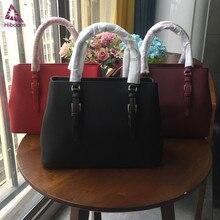 Hiboom New women ladies luxury bag cowhide fashion One-shoul