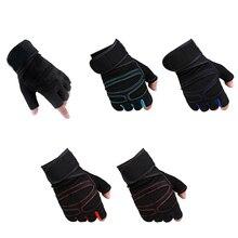 1 пара перчаток для тяжелой атлетики, противоскользящие перчатки для тренажерного зала, фитнеса, тренировки, спортивные перчатки ENA88