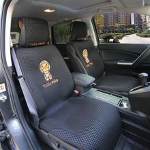 Cartoon ape Five seats cover mat Protect car seat cushion Universal CAR covers Fit Most Automotive interior Suv