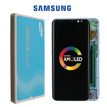Super AMOLED For Samsung Galaxy S8 S8 plus G950 G950F G955fd G955F Burn in Shadow Lcd Display With Touch Screen Digitize