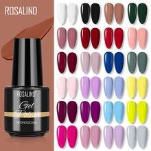 ROSALIND jel oje yarı kalıcı kış renk serisi Glitter jel UV Led lamba lehçe uzatma çivi manikür seti
