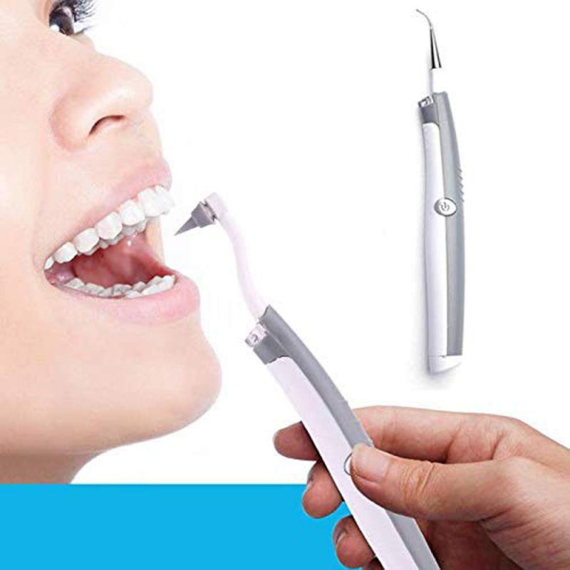 Wholesale Electric Tooth Cleaner Polishing Whitening Tooth Cleaner Instrument LED Light Vibration