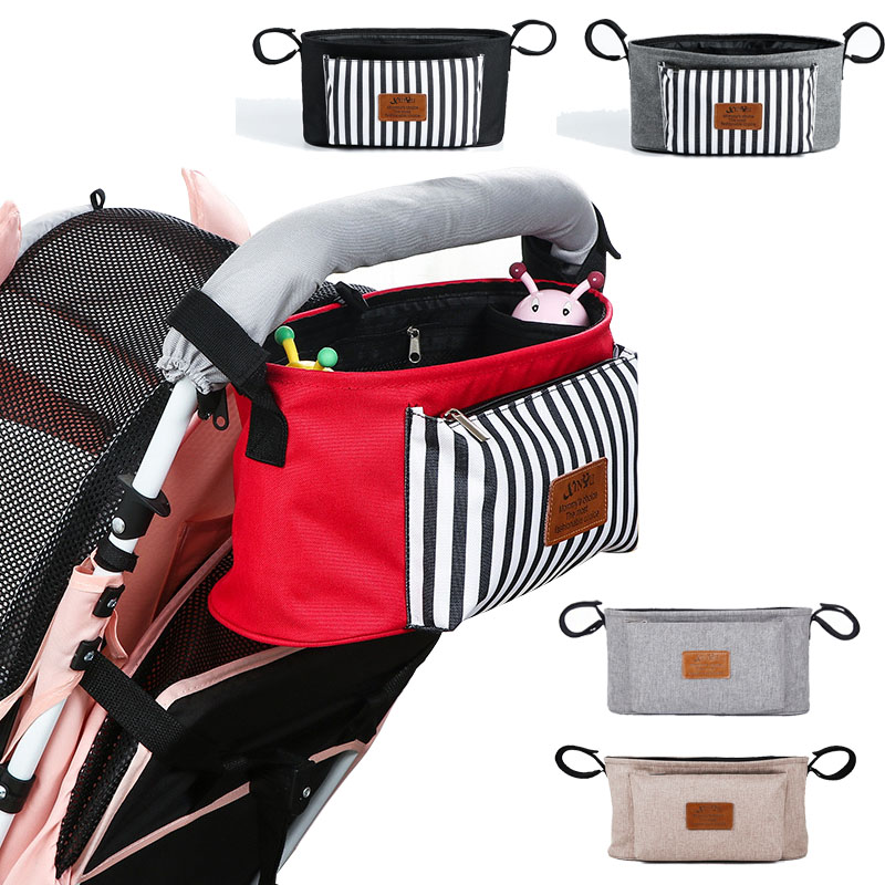 Baby Stroller Bag Reusable Diaper Bag  Bottle Cup Holder  Maternity Nappy Bag Accessories Waterproof OrganizerMommy Bag