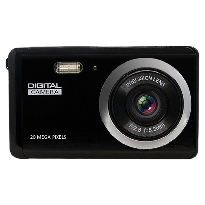 Digital Camera 1080P HD Digital Camera 2MP Rechargeable Anti-Shake Digital Video Camera