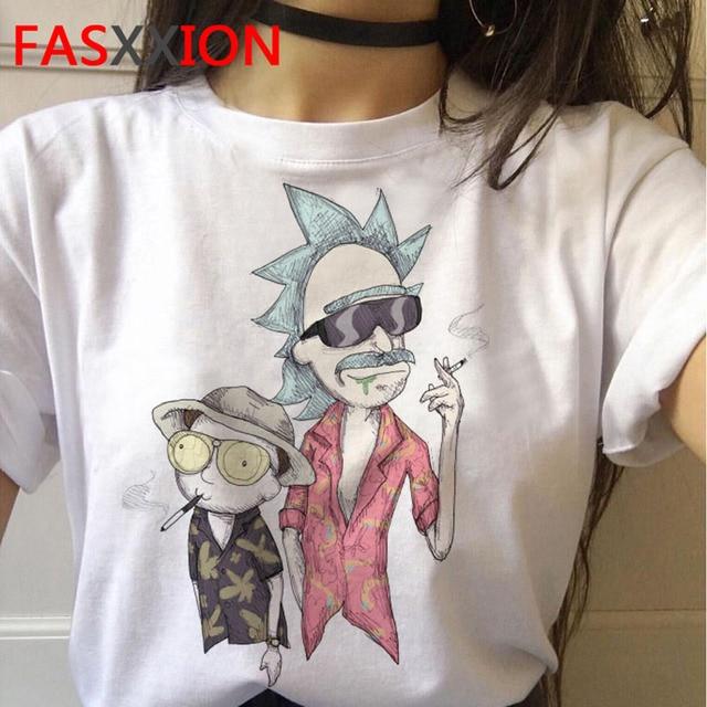 Мужская футболка сезона Рика и Морти 4, забавная футболка с рисунком из аниме, Рик и Морти, e et Mory, футболки, женские топы, футболки с графическим рисунком для мужчин