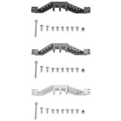 Алюминий передние и задние 4 Соединительная тяга осевой крепление для 1/10 осевой SCX10 гусеничный RC автомобиль