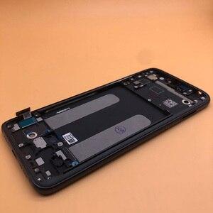 Image 5 - Yeni AMOLED LCD parmak izi XIAOMI Mi cc9 / MI 9 LITE LCD ekran dokunmatik ekran Digitizer meclisi değiştirme MI9LITE