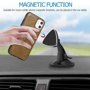 Image 5 - KISSCASE için manyetik deri cüzdan kılıfı iPhone 11 Pro Max 7 8 6 6S artı telefon tutucu iPhone XS Max XR X PU Retro çanta