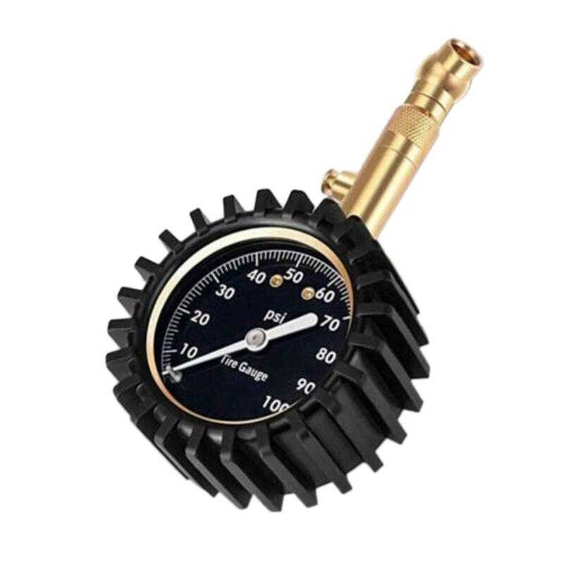 medidor de pressao dos pneus do carro 0 100 psi pesados certificada