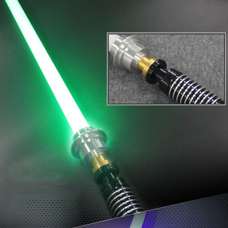 Haute qualité sabre laser chaud métal matériel noir série avec sabre léger épée 110 cm longueur avec LED Charge garçon cadeau d'anniversaire - 6