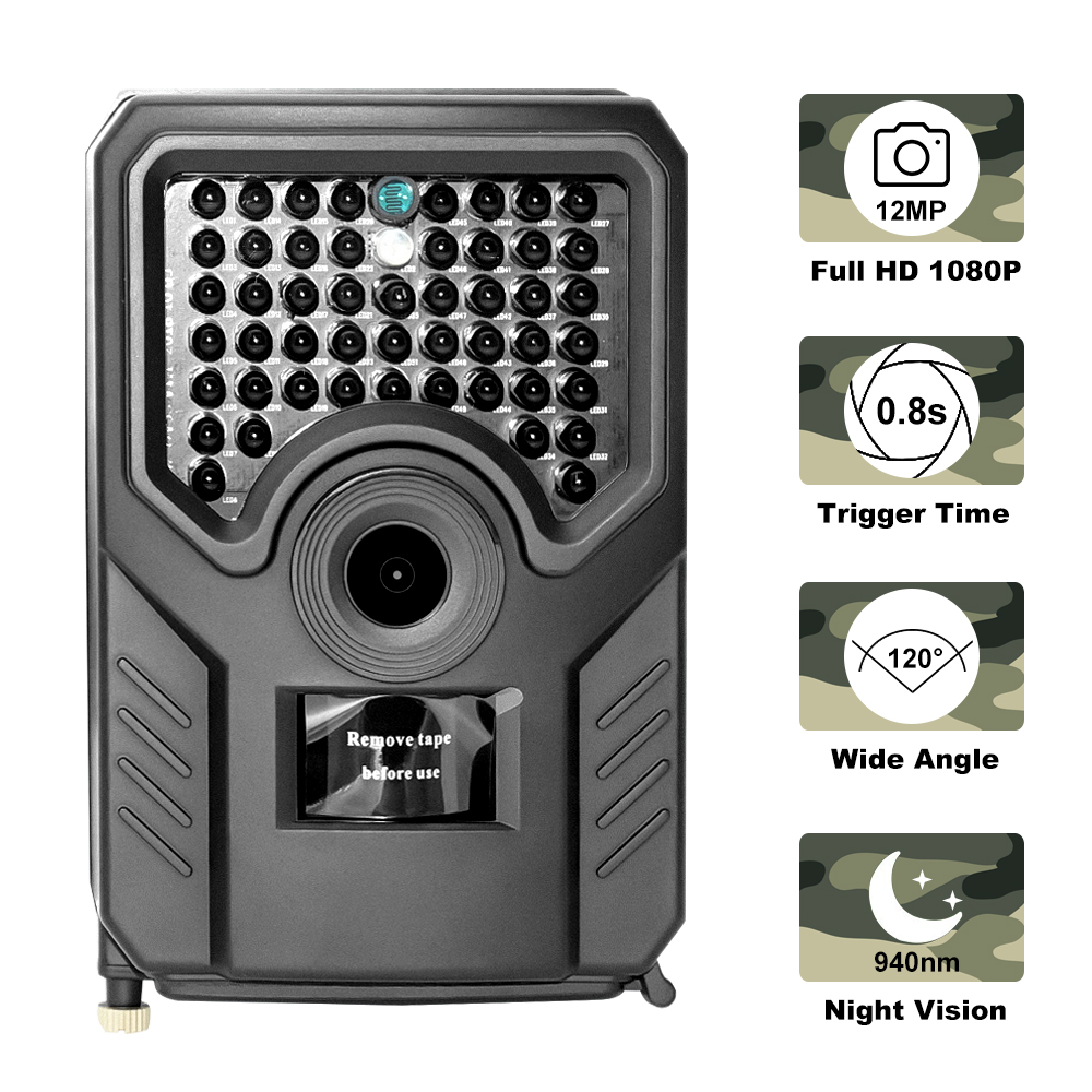 Hunting-Camera Camcorder Wildlife-Photo-Traps Scouts Night-Vision Outdoor Waterproof