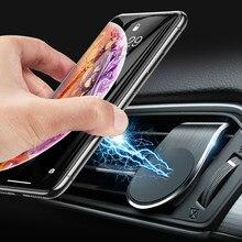 Support de téléphone magnétique pour voiture en métal pour skoda rapid octavia A2 A4 A5 A7 karoq fabia Kodiaq pour tesla modèle 3