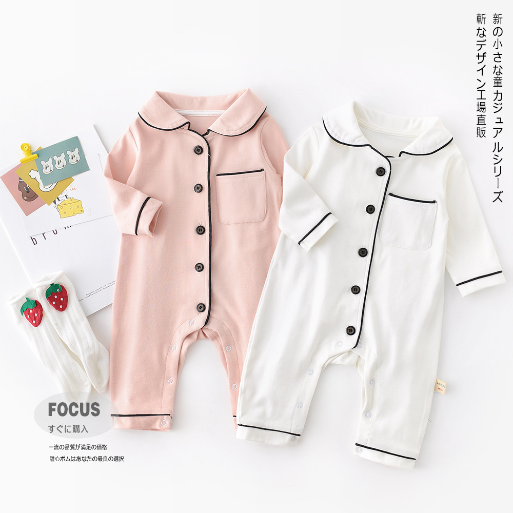 Spring Cotton Pajamas Bebe Winter Stitch Kids Pajamas For Boys Girls Sleepwear Onesies Kids Nightwear Baby Girl Romper