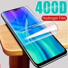 Filme resistente do hidrogel do protetor da tela de 9h para o pro y97 y95 y93 y91 y91c y90 y85 y81 y81i claro película protetora