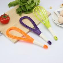 Pp материал блендер, взбивание яиц венчик устройство для волос Вес: 57 г Размер: 30*2*2 см кухонные инструменты пищевой пластик случайный цвет