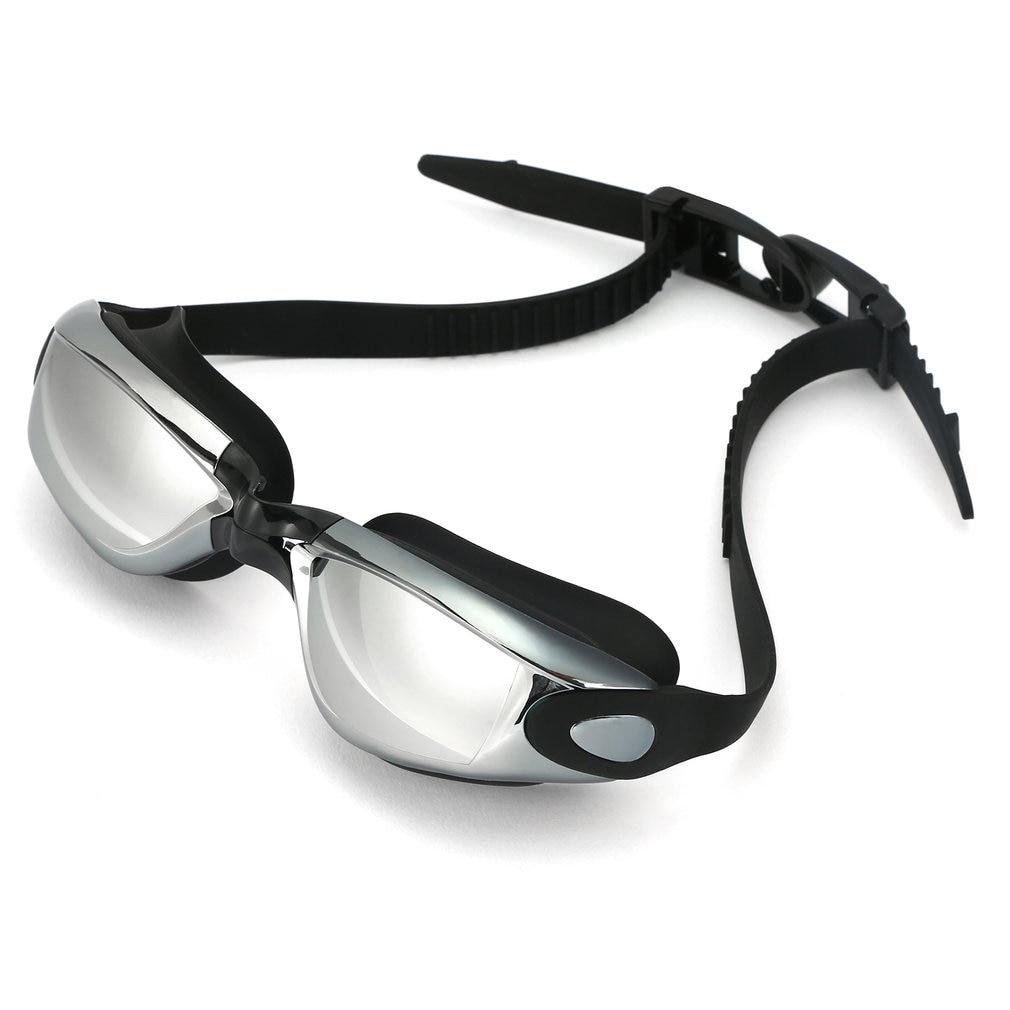 Купить унисекс антизапотевающие очки для плавания защита от уф лучей