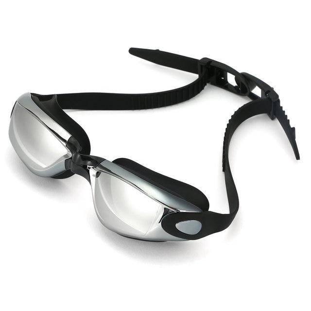 унисекс антизапотевающие очки для плавания защита от уф лучей фотография