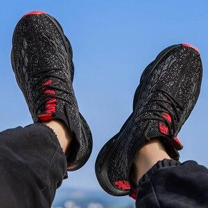 Image 2 - Męskie buty na co dzień oddychające jesień trampki mężczyźni Krasovki Tenis Masculino wysokiej góry Zapatillas lekkie sportowe buty dropshipping 2019