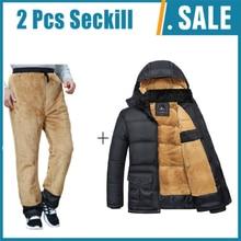 Winter Marke Männer Jacke Pelz Haube Mit Kaschmir Plus Größe 5XL Winter Jacke Hohe Qualität Mode Mantel der Männer Heißer verkauf Baumwolle anzug