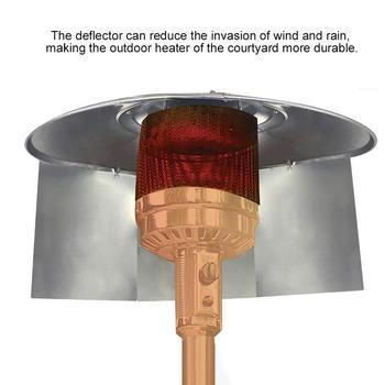 3 sztuk grzejnik tarasowy dziedziniec reflektor tarcza zewnętrzne grzejniki dla Patio propan i gazu ziemnego dziedziniec grzejnik reflektor tanie i dobre opinie CN (pochodzenie) Other Patio Heater Windscreen Na stanie