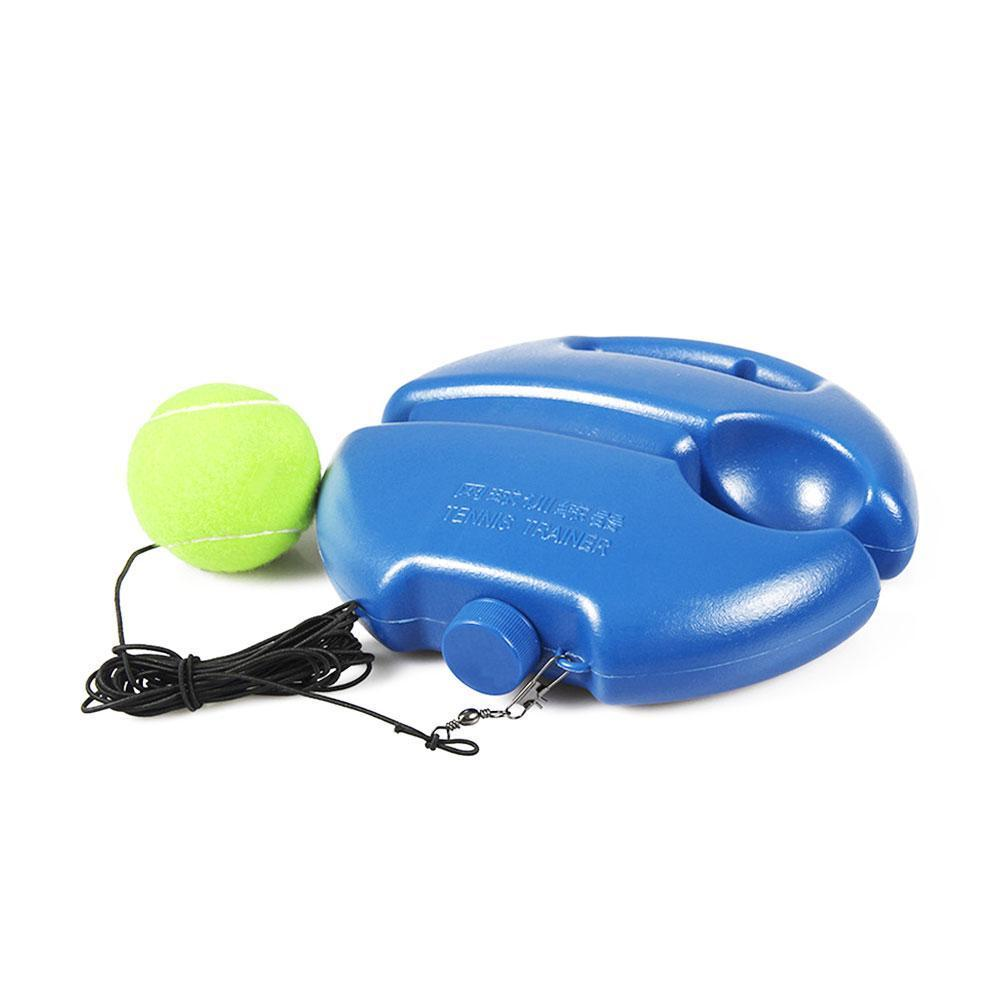 Tennis Trainer Single Self-study Tennis Training Tool Ball Exercise Sparring Baseboard Practice Rebound Device Tennis Acces F2Z1