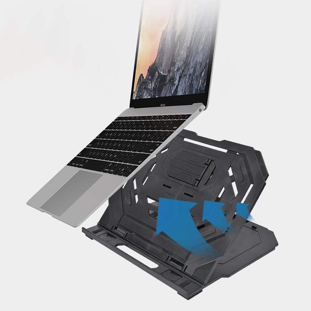 Rotating Flexible Laptop Stand Accessories Base Anti Slip Folding Phone Holder Home 360 Degree Cooler Adjustable Notebook