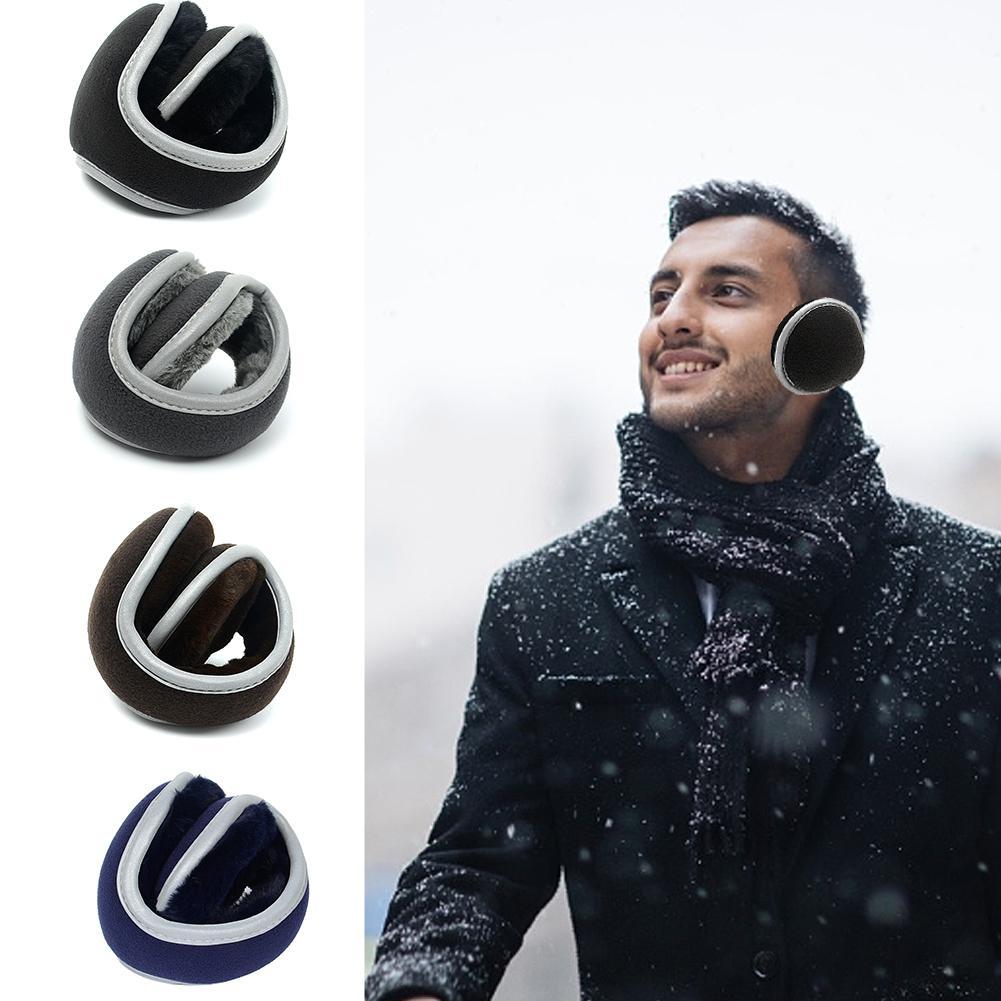 Men Women Foldable Earmuffs Winter Ear Warmers Fleece Portable Earmuffs For Outdoor Sports In Stock