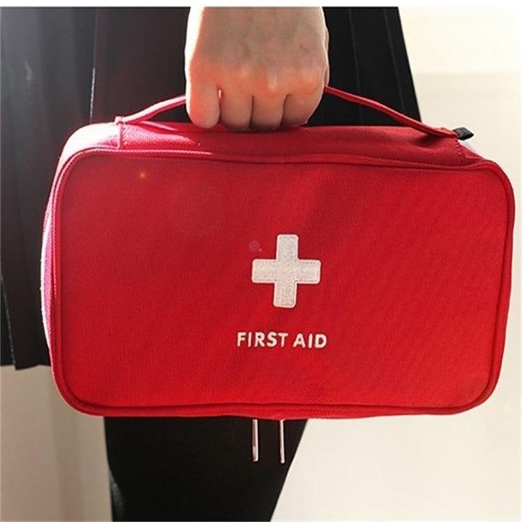 100pcs Large First Aid Kit Emergency Medical Bag Portable Travel Outdoor Camping Survival Medical Box Big Capacity Home Car