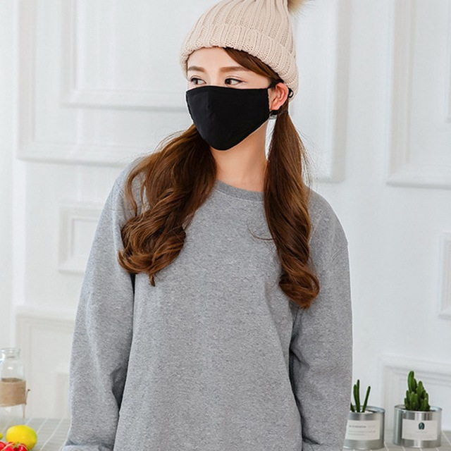 Variation #1 of 2020 pm2.5 anti dust mask mouth mask activated carbon filter windproof mouth-muffle safety proof of face masks