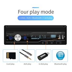 Image 4 - مشغل MP5 راديو للسيارة بشاشة لمس 7 بوصة 1 DIN يعمل بنظام تحديد المواقع للبحث عن بعد جهاز بلوتوث ستيريو قابل للسحب مع دعم لكاميرات الراديو متعددة اللغات