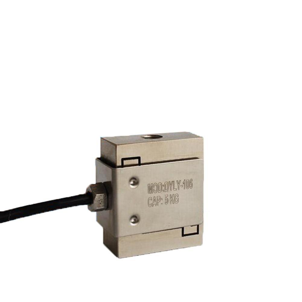 Capteur de pesage de poids de Force de capteur de pression de traction de type Micro de cellule de charge DYLY-106 S 5KG 10KG 50KG 100KG CE0164