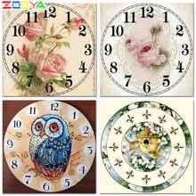Zooya diy алмазная живопись Алмазная вышивка мозаика часы с
