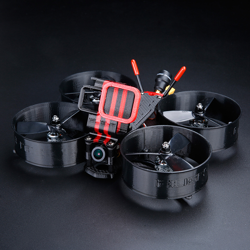IFlight MegaBee V2 146mm 3inch FPV Drone 4K Filming BNF with SucceX F4 V2 Flytower/<font><b>3045</b></font> <font><b>Propeller</b></font>/XING 1408 3600KV Motor for FPV image
