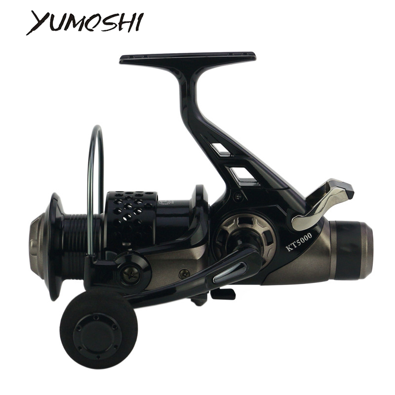 Spinning Wheel Boat Rock Fishing Wheel Double Brake Fishing Reel 3000-8000 Series Reel Carp Fishing Feeder Spinning Reel