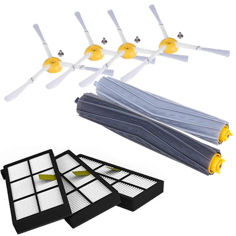 For iRobot Roomba 800 801 805 900 980 Series filters 870 880 side brushes